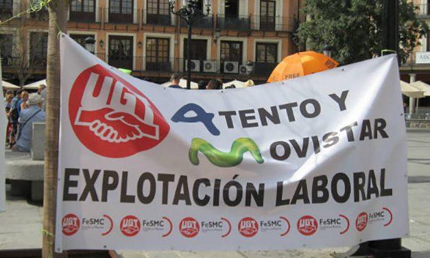 Denuncia a Atento ante la Inspección de Trabajo por el maltrato a sus trabajadores y la oleada de despidos improcedentes